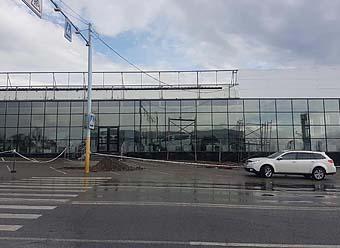 Архитектурное солнцезащитное тонирование Алматы